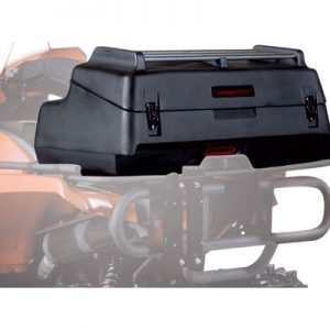 Kimpex Cargo Deluxe Rear Trunk Black 35″W x 11.5″H x 21″D for Arctic Cat 1000 LTD 2012